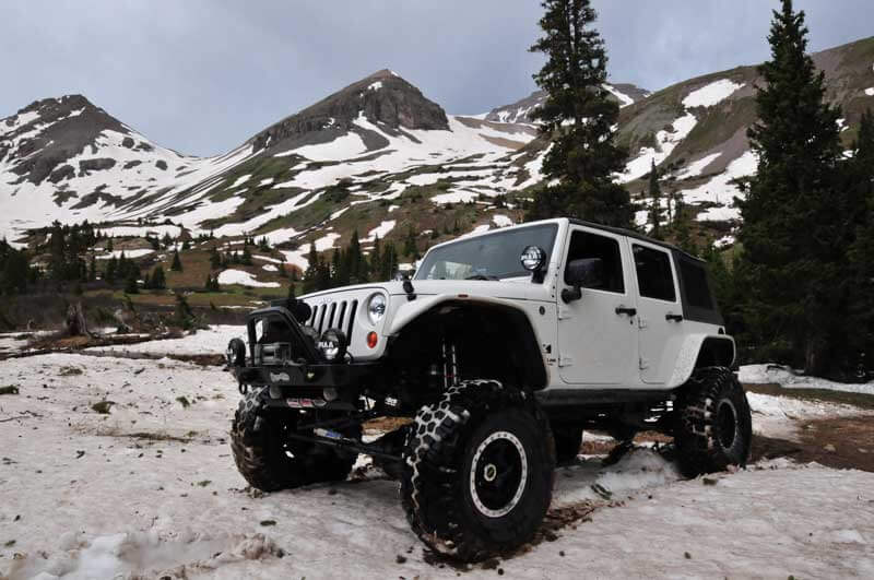 "2008 Jeep JK with 6.5"" BDS lift"
