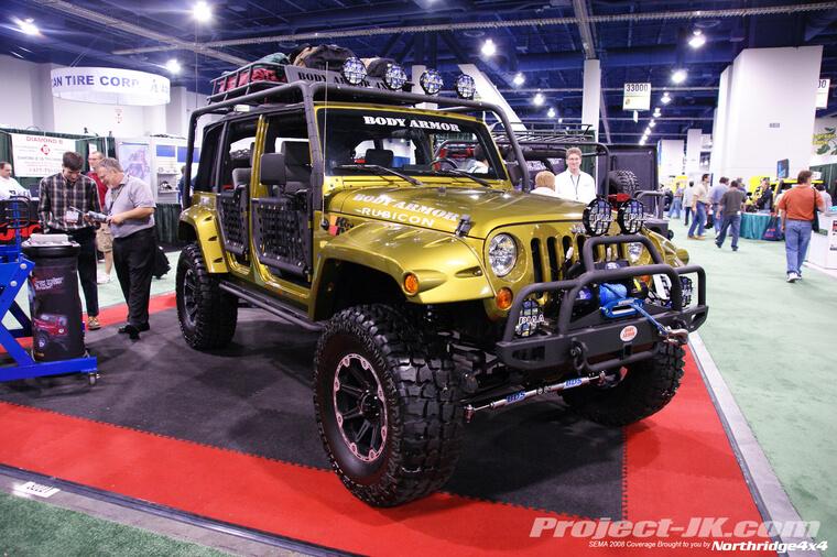 SEMA Jeeps
