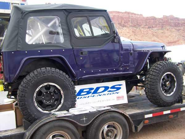"Win a YJ with a 2"" BDS Lift!"