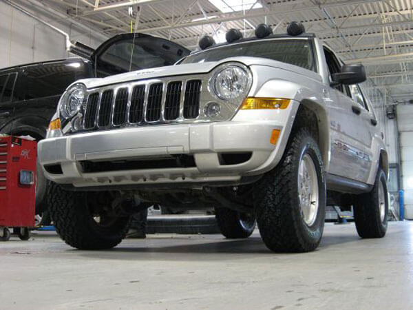 65th Anniversary Jeep Liberty w/ BDS lift