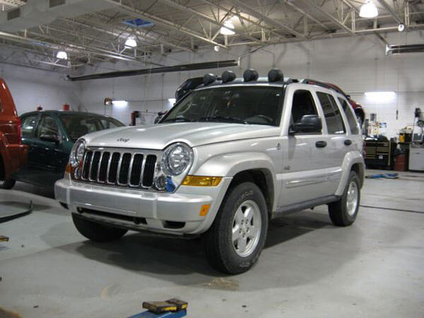65th Anniversary Jeep Liberty with BDS lift