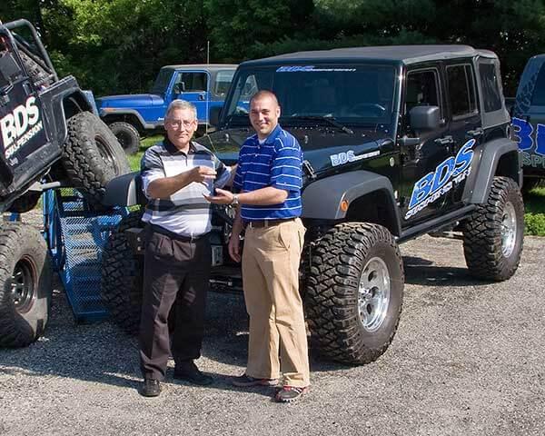 Nester Wins BDS Wrangler in Tread Lightly! Auction
