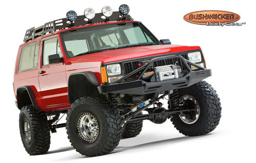 Bushwacker Jeep with BDS lift kit