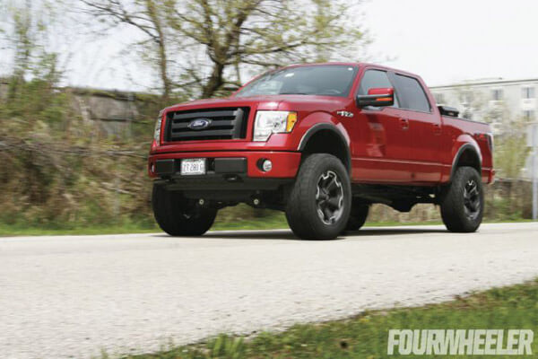 BDS 6'' lift install in Four Wheeler Magazine