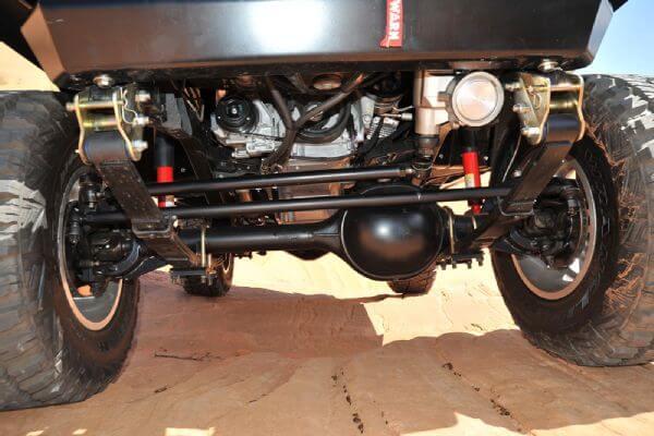 4Wheel Drive & Sport Utility Magazine's V8 Project YJ