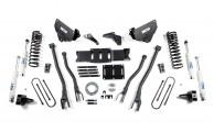 "Press Release #170: 2013-2014 Dodge Ram 3500 6"" 4-Link Conversion Lift Kit"