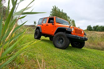 Jeep JK with BDS lift kit
