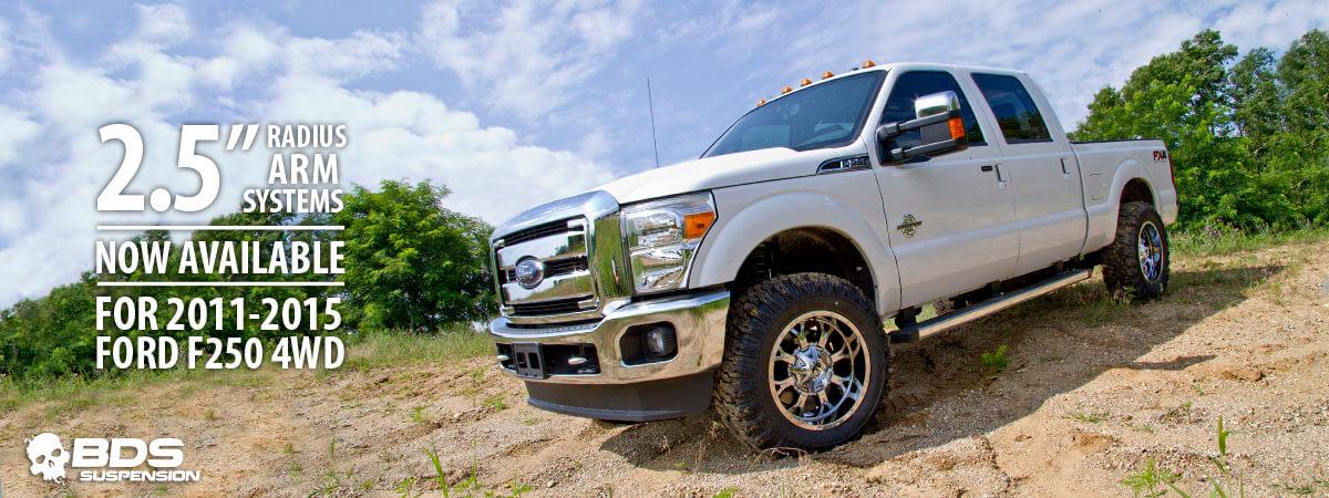 BDS 2 5'' Radius Arm Lift Kits for F250 Trucks