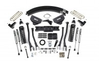 "BDS PR#214: 8"" 4-LINK KIT FOR 2013-2015 RAM 3500 TRUCKS"