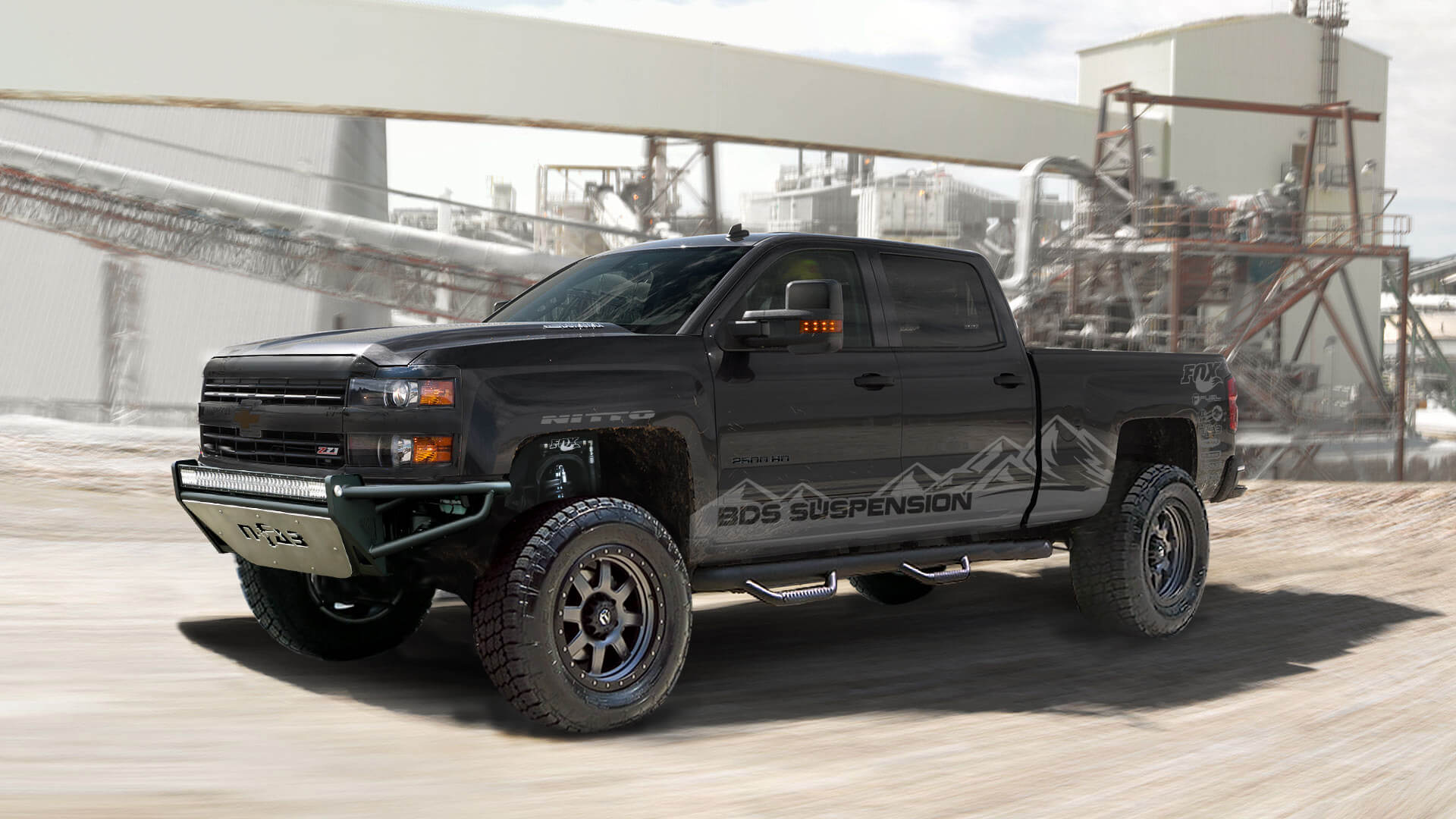 Best Lift Kit For Chevy 2500hd >> BDS SEMA Build - 2015 Chevy HD | BDS