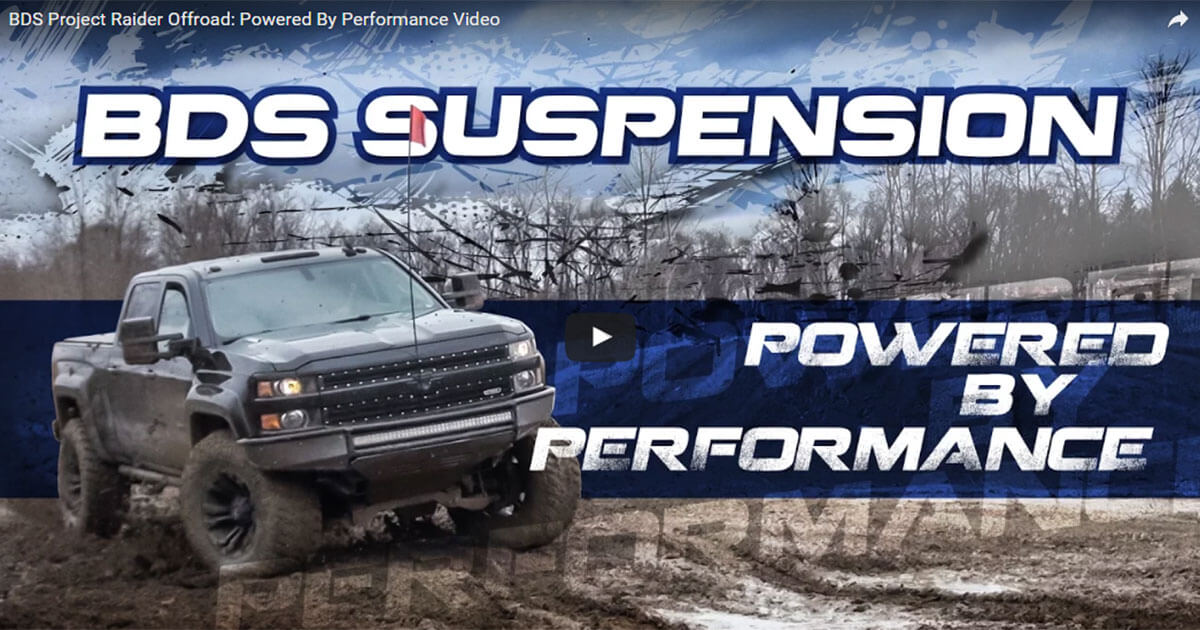 BDS Project Raider Offroad: Powered By Performance Video