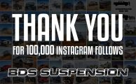 Thank you for 100,000 Instagram follows