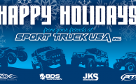 Happy Holidays from all of us here at Sport Truck USA