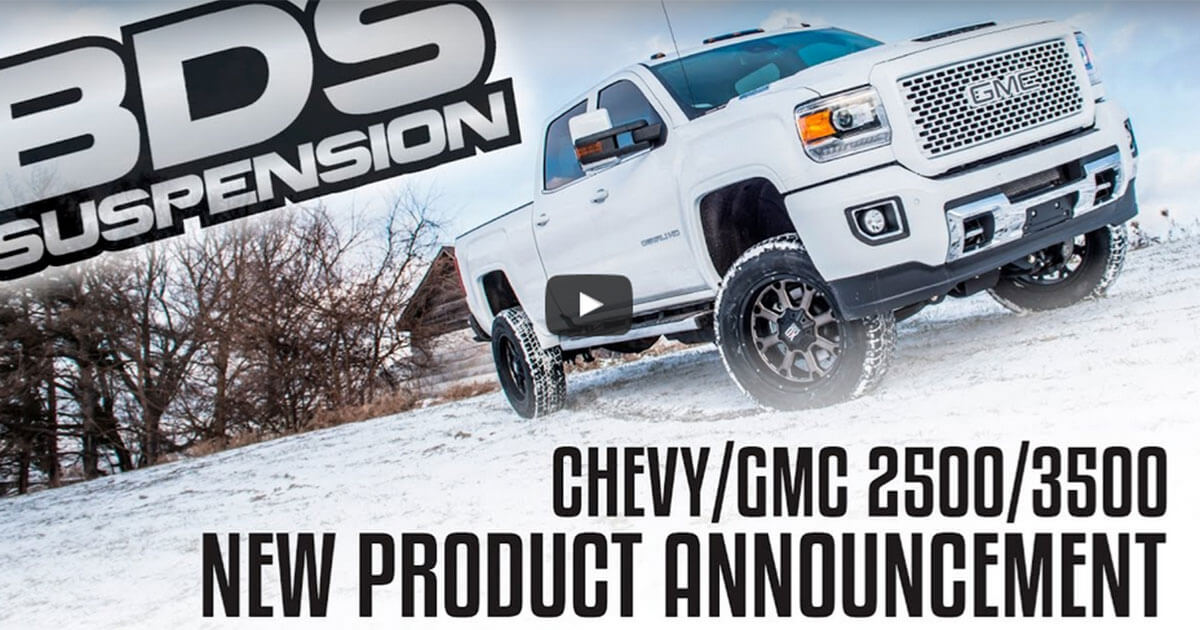 Chevy/GMC 2017 2500 Lift System Video
