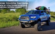 Toyota Tacoma Lift Kit Install Video