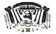 "BDS New Product Announcement #295: 2017 Super Duty 8"" 4-Link Lift Kits"