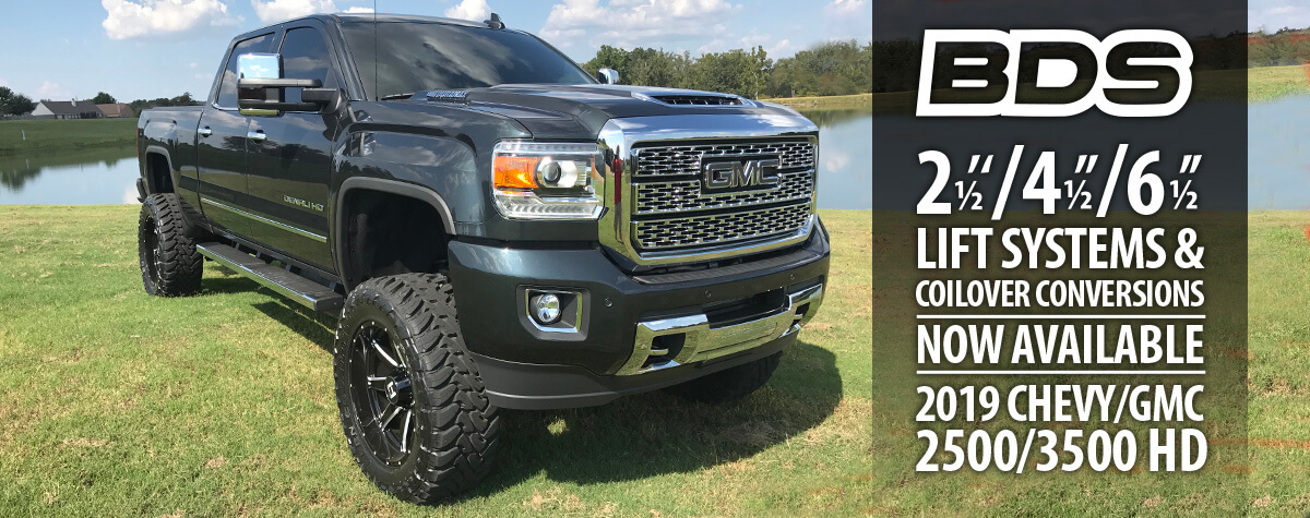 2017 Chevy/GMC HD Lift Kits by BDS Suspension