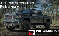 "Driving Line Magazine Reviews the BDS 2-3"" Coilover Conversion for HD Trucks"