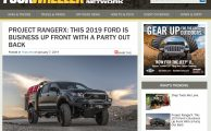 FourWheeler Features Project Ranger X