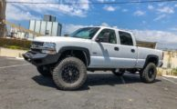 BDS Tech: Truck Trend's LB7  Chevy HD Gets Coilovers