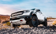 Offroading in Air Designs' Ford Ranger