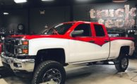 """PowerNation's Giveaway - 2014 Silverado with BDS 8"""" Lift Kit"""