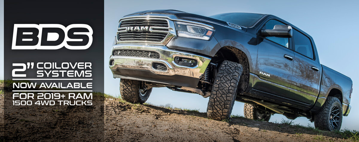 "2019-2020 Ram 1500 2"" Performance Coilover System"
